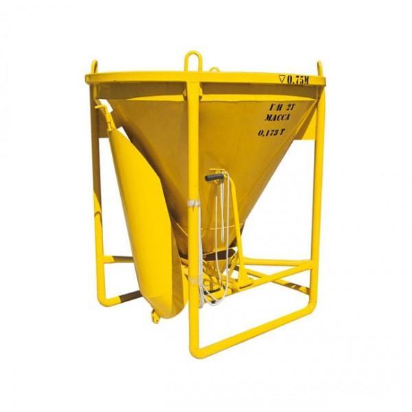 Бункер для бетона рюмка Spektrum ББМ - Предназначена для подачи бетонной массы на высоту