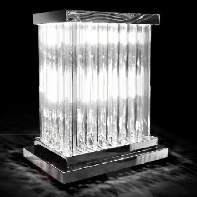 belle lampe poser dorico cristal lampes poser en cristal luminaire fr allemagne. Black Bedroom Furniture Sets. Home Design Ideas