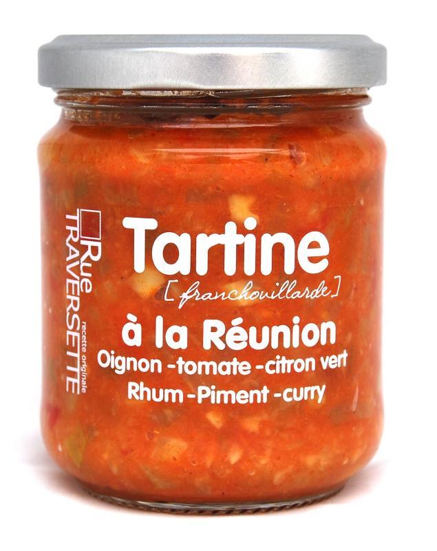 Tartine Franchouillarde à la Réunion 185g - Epicerie salée