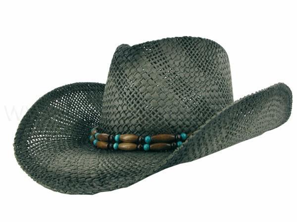 Cowboyhüte aus Stroh Partyhüte Strandhüte - null