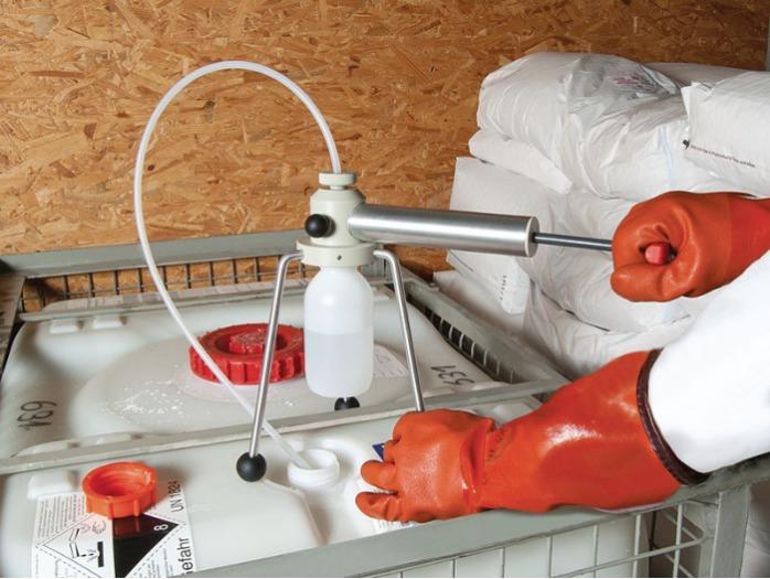 Profi Sampler de PP - Muestreador para líquidos, para agua y efluentes, para barriles, tanques, camion