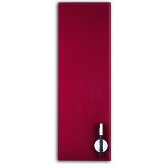 Glas Magnettafel 60x20cm Farbe: Pflaume - null
