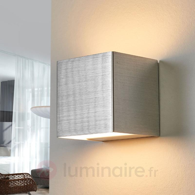 Applique en aluminium Kimberly avec LED - Appliques LED