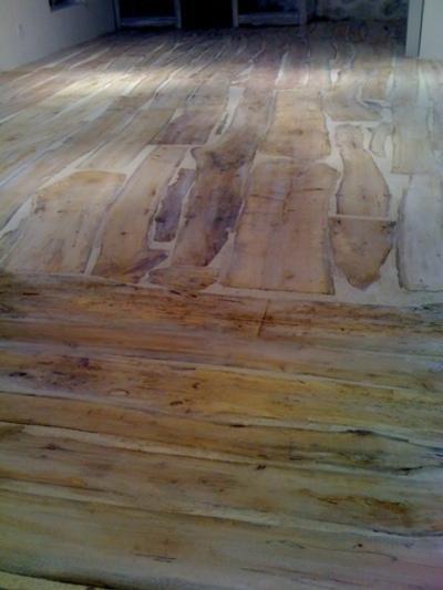 Plancher en bois flotté - Revetements