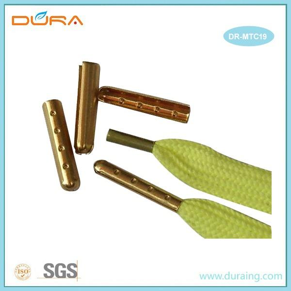Shoelace Metal Aglets - we supply different size and color shoelace metal aglets