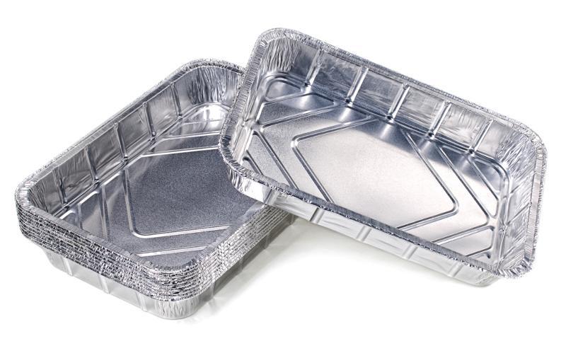 FLASH Grill-Alutropfschalen 10er Beutel - null