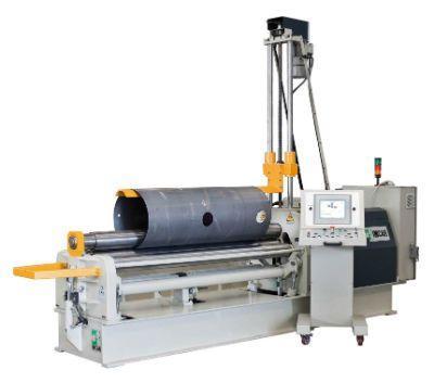 Curvatrice automatica a 4 rulli idraulica