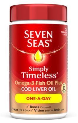 Seven Seas Cod Liver Oil One A Day Capsules