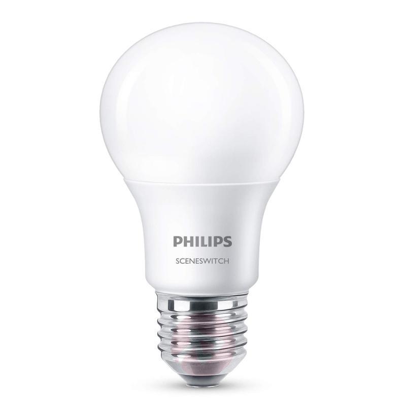 E27 8W 827 LED lamp Scene Switch matt - light-bulbs