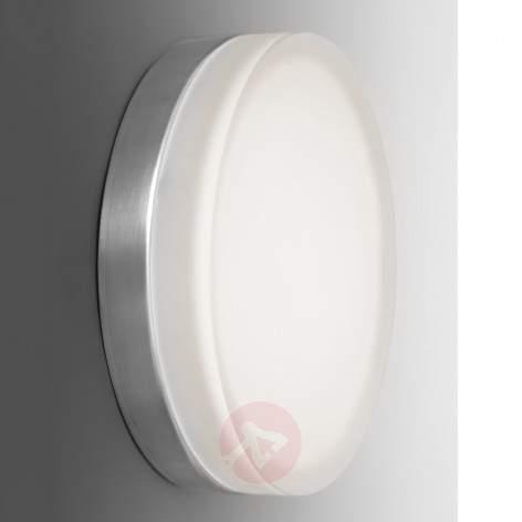 Briq 01 simple, round LED wall light, 3,000 K - indoor-lighting