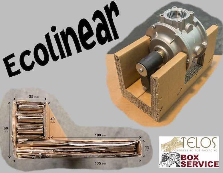 Ecolinear - Salvabordi in cartone per il massimo di protezione ed ecosostenibilità