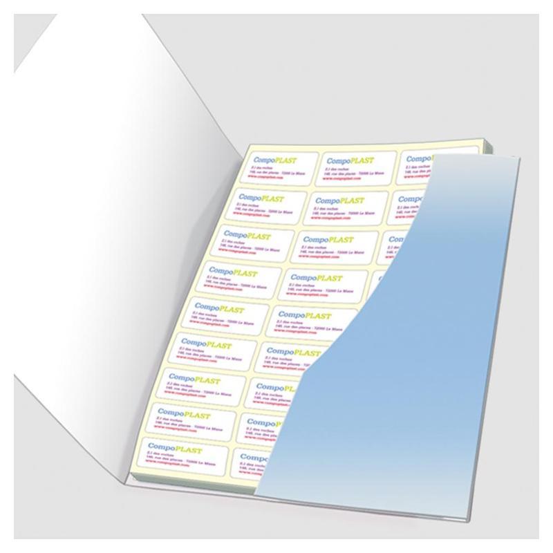 Kit étiquettes - Etiquettes personnalisées multi-usages et synthétiques