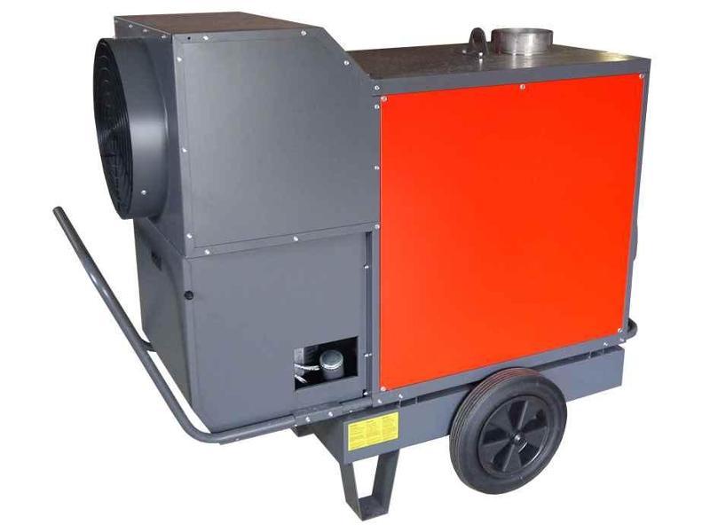 Vermietung orange-line - Lufterhitzer MHLD70