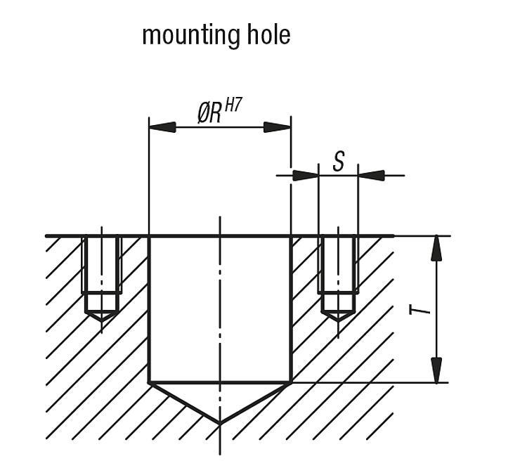 Positioning units, spring-loaded - Structural and supporting elements