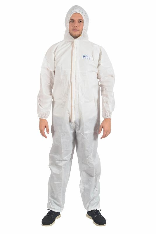 Type 5/6 Protective Coverall - MEDICAL TEXTILE