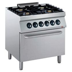 GAS STOVES & ELECTRIC OVENS - GAMME MEDIUM 1700 (700)