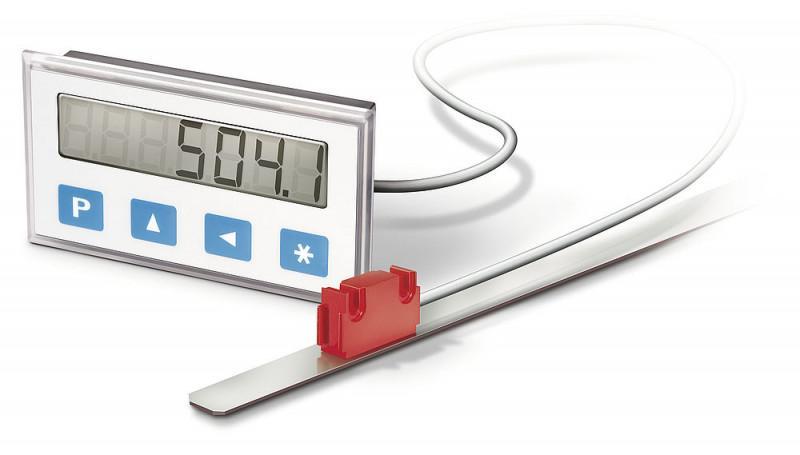 测量显示器 MA504/1 - 测量显示器 MA504/1, 准绝对值,小型独立电源 LCD 显示器