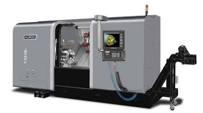 Drehmaschine - TM 18i - Die ideale Maschine für die Dreh-Bearbeitung mittelgroßer Teile