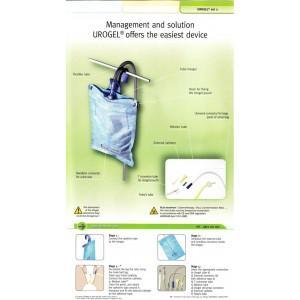 Crochets attache pour poches de collecte d'urine  - UROGEL