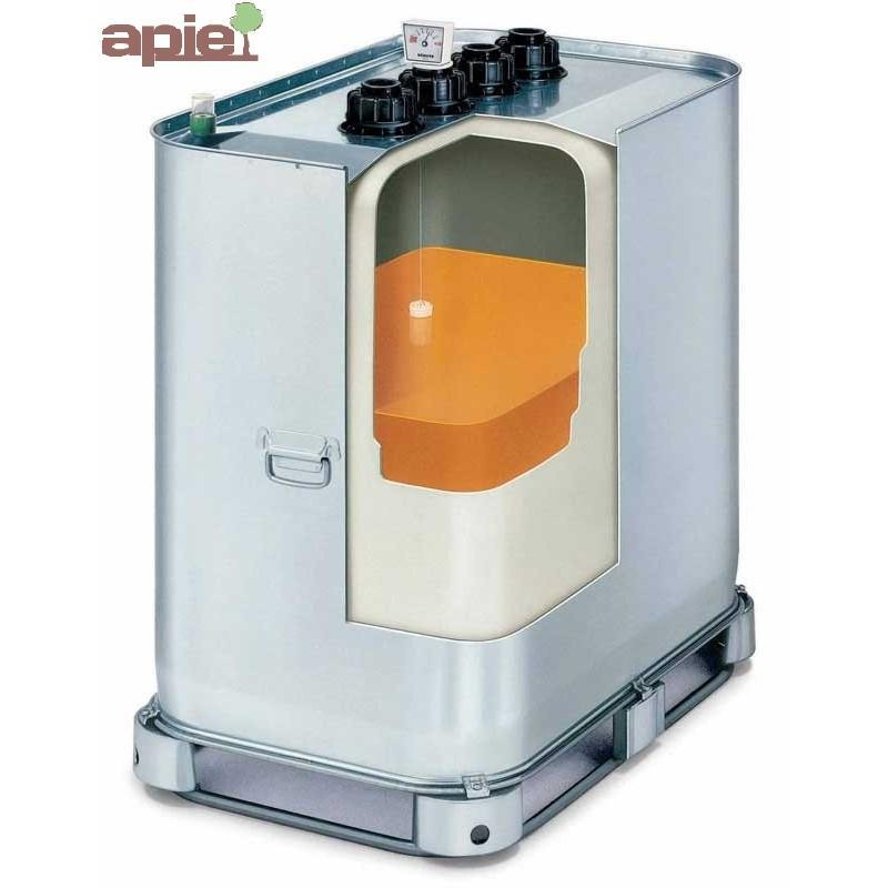 Cuve double paroi 1000 Litres pour huiles, gamme VET - Référence : V.E.T1000/H