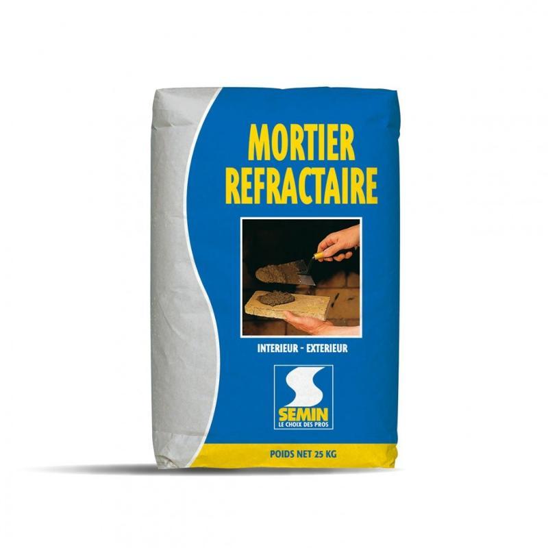 MORTIER RÉFRACTAIRE - Mortier réfractaire