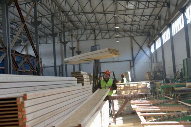 Poutre en bois en double T - Poutre en bois en double T pour des chevrons et des planchers en bois