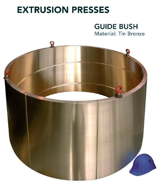 Guide bush - Press industry - extrusion press