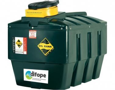 Cuves Collecteurs D'huiles Usagées - 1380 L - CDPHU1400H-Cuves de récupération et stockage d'huiles usagées