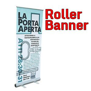 Roller banner - Rollup with the structure printed while we speak