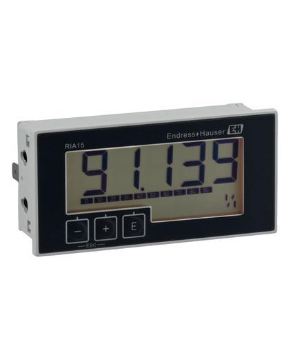 RIA15 Afficheur alimenté par boucle pour signaux 4 à 20 mA ou HART - Produits système et data managers