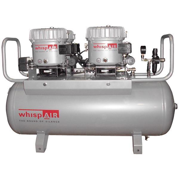 Whispair Kompressor CW200/100 - Ölgeschmierte Flüsterkompressoren