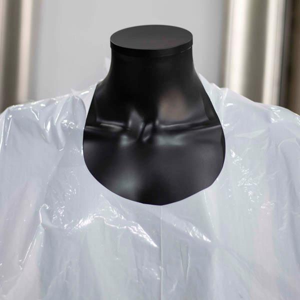 Capas De Corte Desechables De Plástico Planethair Store® Para Peluquería - null