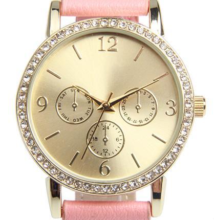 women watch with japan movement - Fashion Watch Quartz Movement/Gold Watch Women/Quartz Wrist Watch
