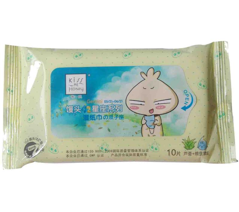 Face Wet Wipes10S(Constellation Series)--Gemini - null