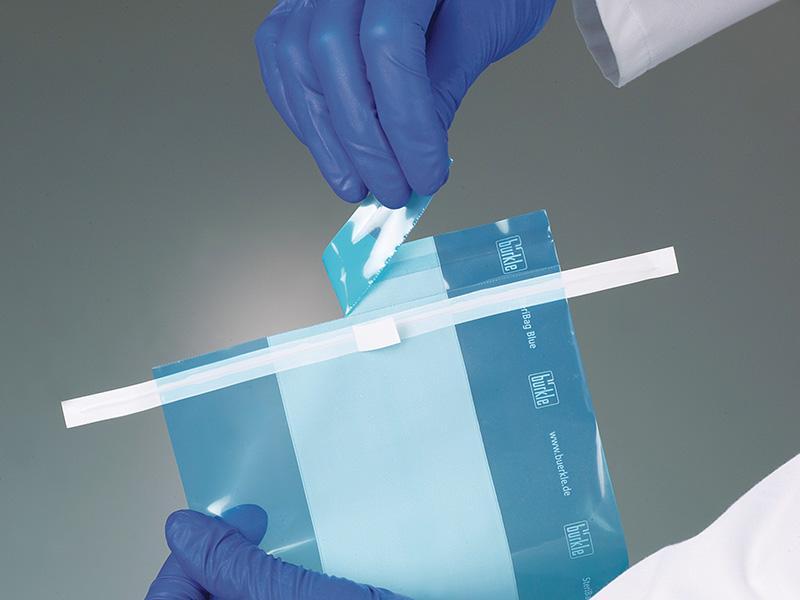Bolsa de muestras SteriBag Blue - https://www.buerkle.de/es/bolsa-de-muestras-steribag-blue