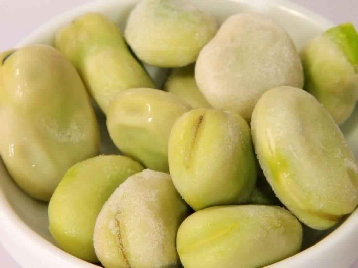 Frozen broad beans - Frozen broad beans