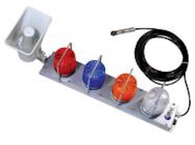 Barre d'alarme FA 200 - Appareil d'alarme pour le système MeshGuard