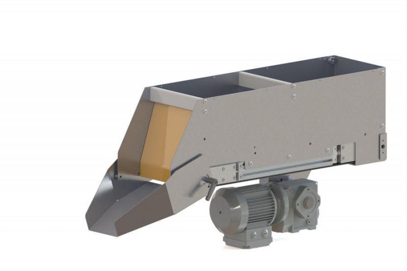 Bunker & Bänder, Vorratsbunker Zwischenspeicher Fördergurte - Geräte und Komponenten - Bunker & Bänder: Kleine große Helfer in der Produktion