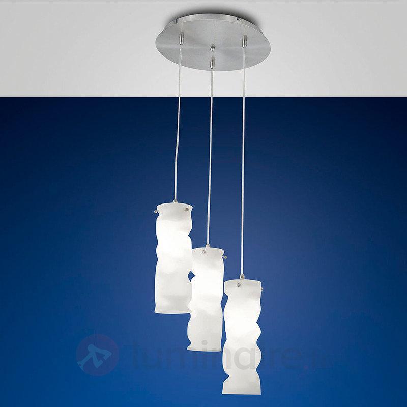 Melt - suspension avec baldaquin rond - Suspensions design