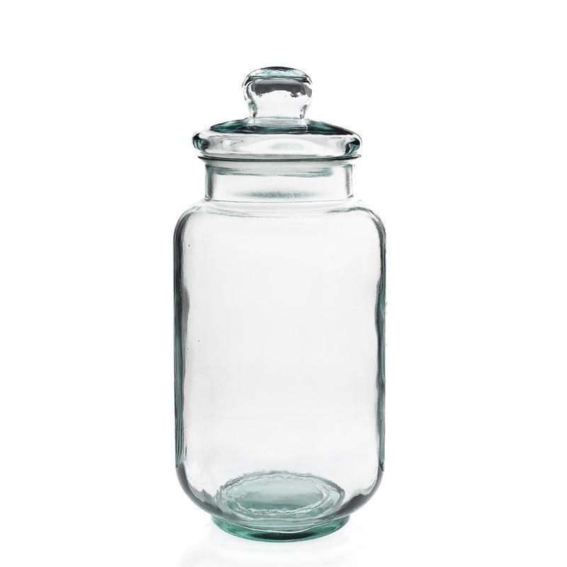 Bonbonnière Tarro Liso, 7 litres, 41 cm de haut, en verre 100% recyclé - Bonbonnes et bonbonnières