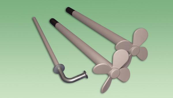 Abrasion-Resistan PFA - Porefree non-stick coating - chemical resistant and highly abrasion resistant