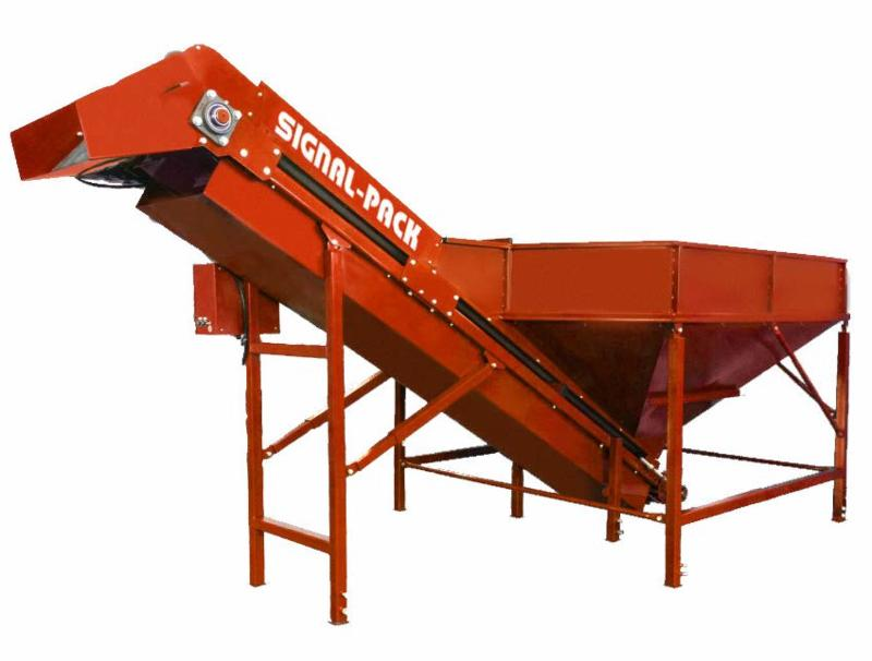 Loading conveyor TLB - CONVEYING SYSTEMS FOR PROCESSING AND PACKAGING OF VEGETABLES AND FRUIT