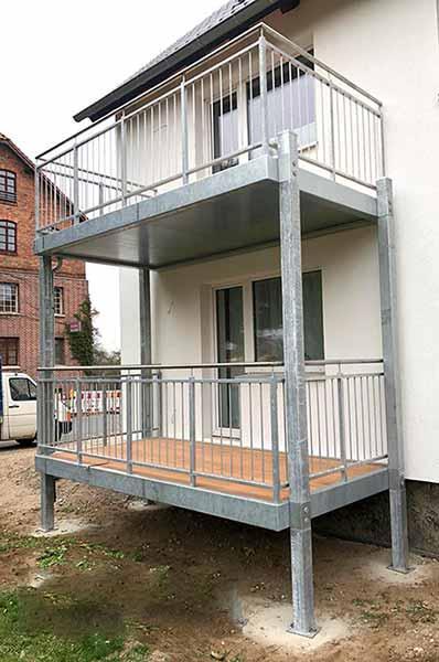 Balkon - Anbaubalkone, Vorstellbalkone ,Freitragende Balkone