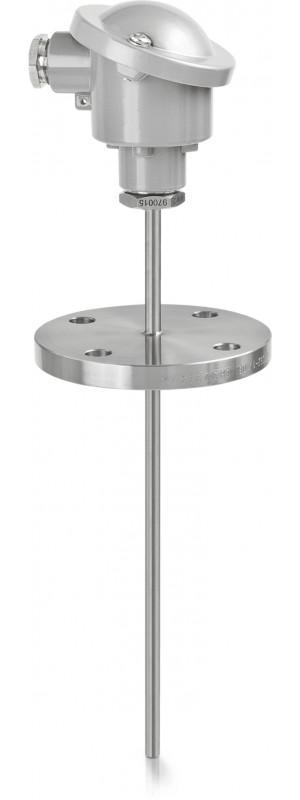 OPTITEMP TCA-F13 - Flange thermocouple / abrasion-resistant