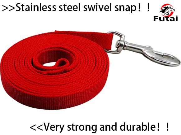 stainless steel horse/pet/dog/cat lead rope/bolt snap  - horse lead rope,pet's lead rope,cotton material