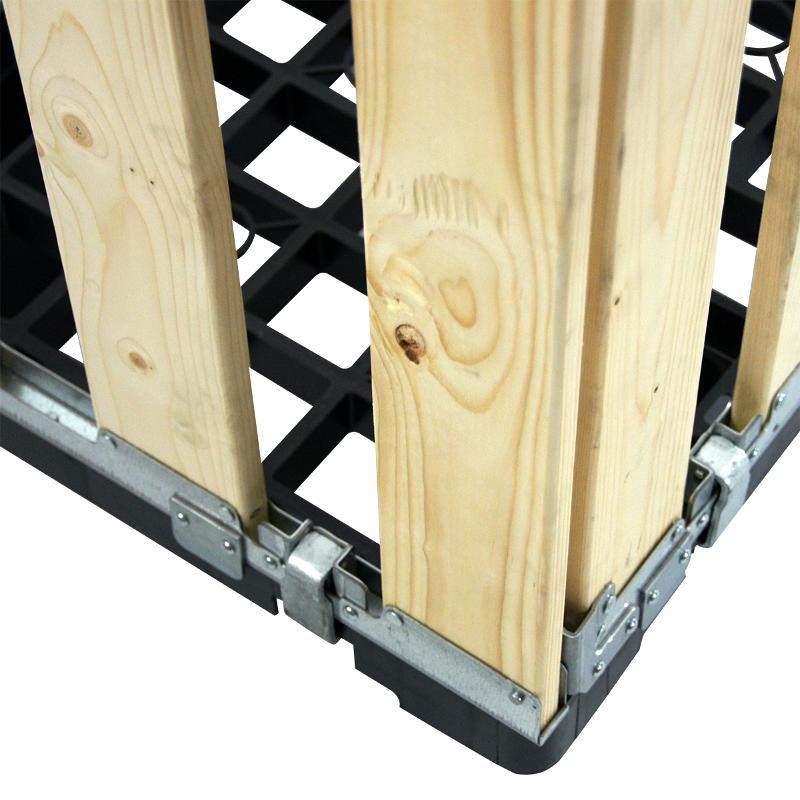 Faltbare Begehbare Paletten-Boxen - MPB.e70.A