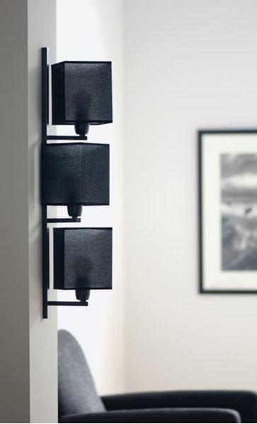 """APPLIQUE """"BOUTO"""" E27 3X40W BRONZE GRIFFE - Intérieur décoratif"""