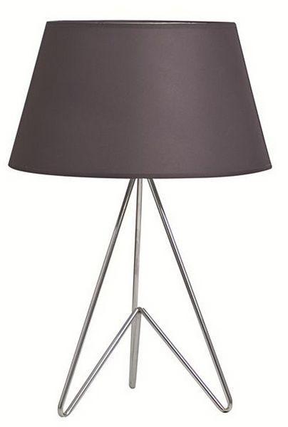 lampadaire 62 cm metal argent Mood S&P - SP33164