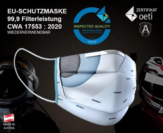 Vprotect PRO community mask - EU Community Mask Vprotect PRO with OETI certificate, tested according to CWA 17