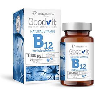 Goodvit Natural Vitamin B12 1000 - null